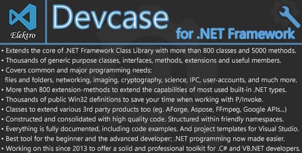 DevCase for .NET Framework