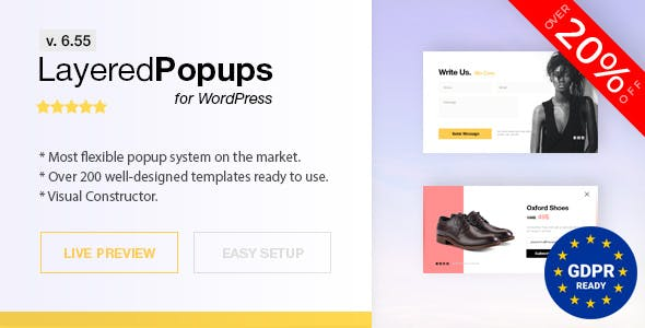 95913c815 Popup Plugin for WordPress - Layered Popups - CodeCanyon Item for Sale