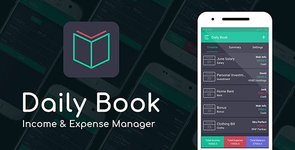 Make A Expense Manager App With Mobile App Templates