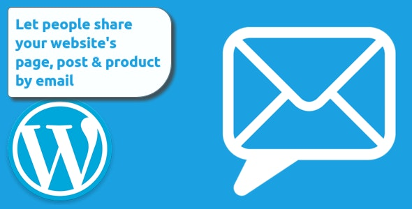 """""""Share by email"""" - a sharing tool for WordPress - CodeCanyon Item for Sale"""