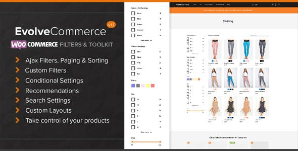 Evolve Commerce - WooCommerce Filters & Toolkit