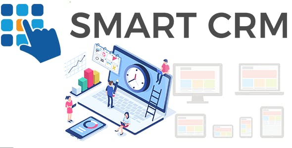 Smart - Powerful Responsive CRM With Front End