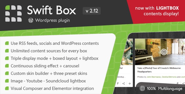 Swift Box - Wordpress Contents Slider and Viewer by LCweb
