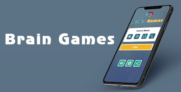 Brain Games - Android - CodeCanyon Item for Sale