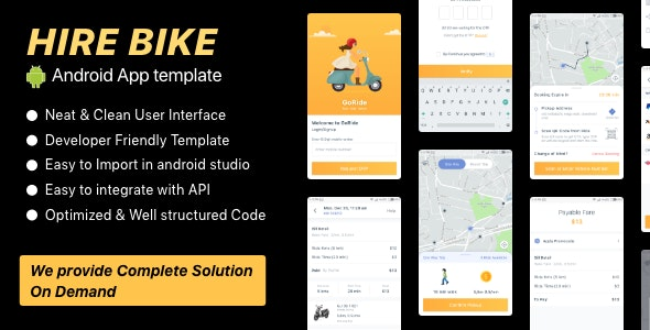 GO RIde UI KIT - CodeCanyon Item for Sale