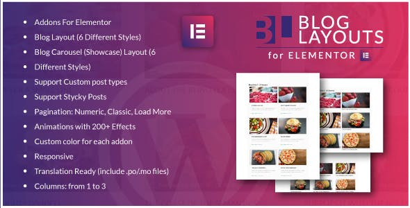 Blog Layouts for Elementor WordPress Plugin