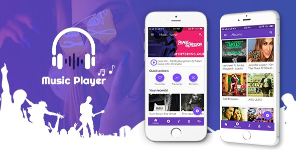 Flutter App-Music Player - CodeCanyon Item for Sale