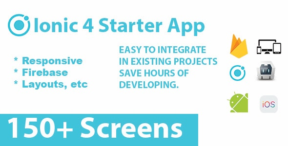 Ionic 4 Full Starter App / Themes / Layouts - CodeCanyon Item for Sale