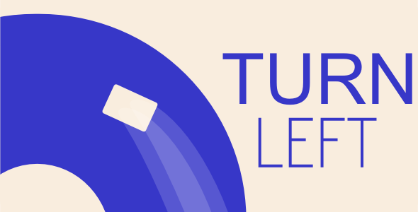 Turn Left - Html5 Mobile Game - android & ios