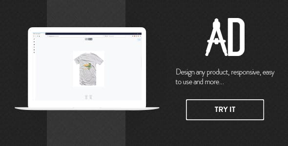 Custom products designer for WooCommerce