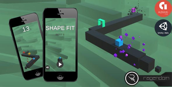 Shape Fit – Complete Unity Game + Admob
