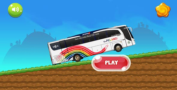Bus Simulator - Admob - Android & Ios Game (Buildbox Included)