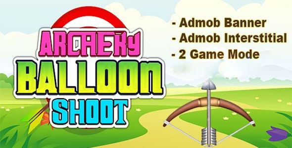 Archery Balloon Shot - Android Studio Project - Ready To Publish - CodeCanyon Item for Sale