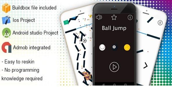 Ball Jump - Buildbox Game