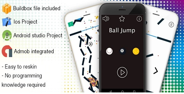 Ball Jump - Buildbox Game - CodeCanyon Item for Sale