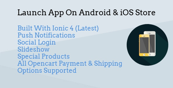 Opencart Android & iOS Mobile App Ionic 4 by saqibashraf