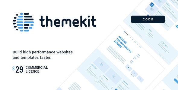 Themekit Code - Wireframe HTML Framework - CodeCanyon Item for Sale