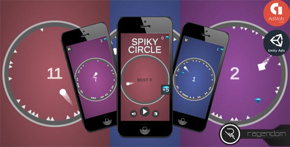 Spiky Circle - Complete Unity Game + Admob