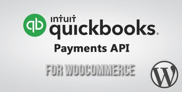 QuickBooks(Intuit) Payment API Gateway for WooCommerce - CodeCanyon Item for Sale