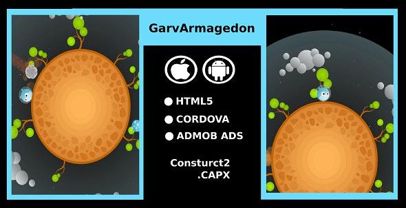 GarvArmagedon - HTML5 Platform Game - CodeCanyon Item for Sale