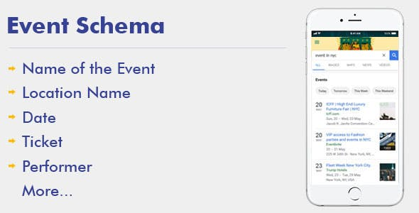 Event Schema For WordPress