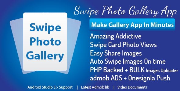 Swipe Photo Gallery Android App