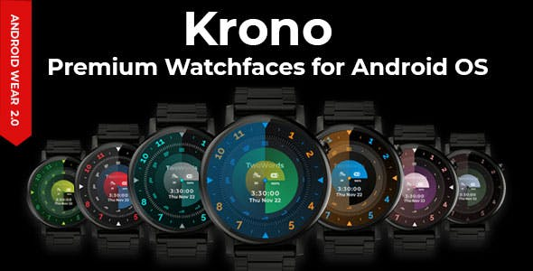 Krono Premium Watchfaces for Android OS