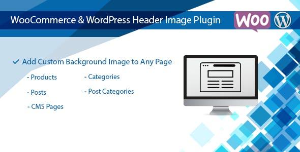 WooCommerce & WordPress Header Image Plugin