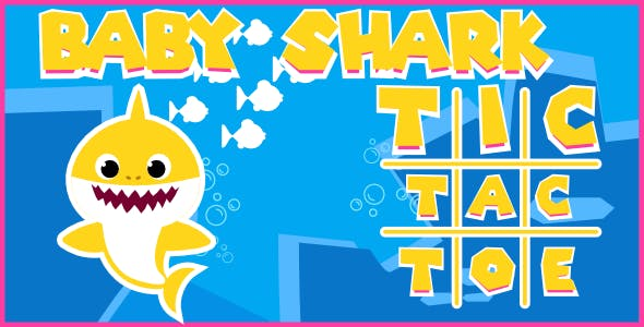 Baby Shark | Tic Tac Toe | Html5 Game