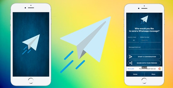 Quick Messenger For WhatsApp - ios App - CodeCanyon Item for Sale