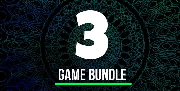 3 Games Bundle - Unity Games Source Code