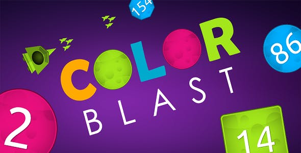 Color Blast - Unity Game With Admob & GDPR Integrated