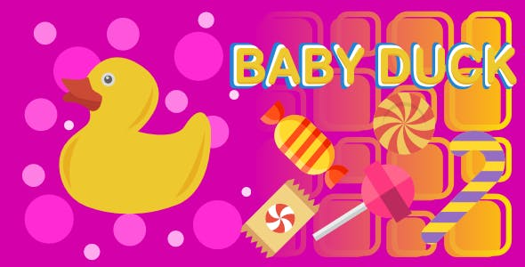 Baby Duck | Html5 Mobile Game | android & ios