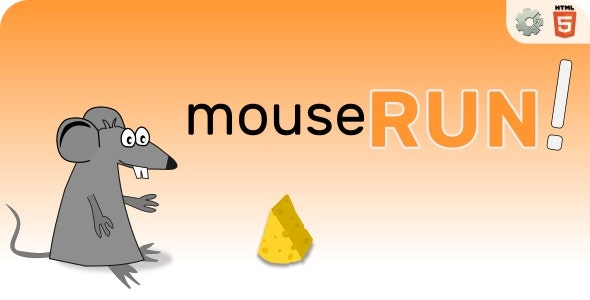 mouseRUN! - HTML5 Skill Game - CodeCanyon Item for Sale