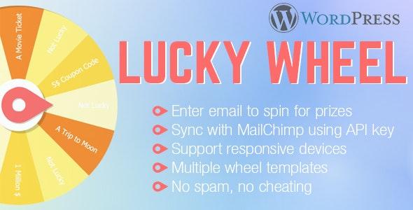 WordPress Lucky Wheel - CodeCanyon Item for Sale