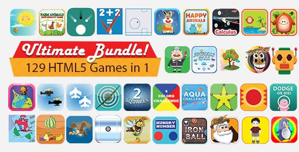 Unlimited Bundle - 129 Games with Source
