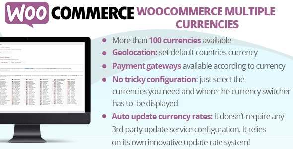 WooCommerce Multiple Currencies by vanquish | CodeCanyon