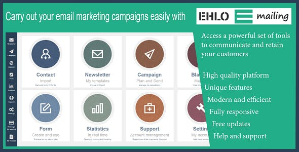 EHLO Mailing: All-in-One Bulk Email Marketing Platform