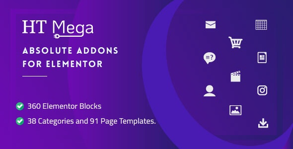 HT Mega Pro – Absolute Addons for Elementor Page Builder - CodeCanyon Item for Sale