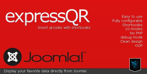 expressQR for Joomla - Easy qrcodes