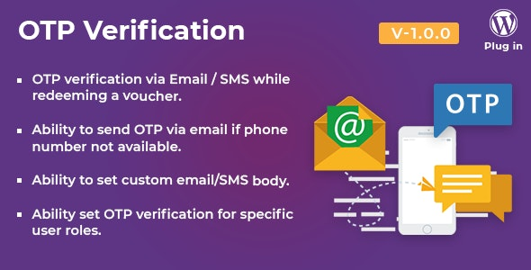 WooCommerce PDF Vouchers - OTP Verification add-on by wpweb | CodeCanyon
