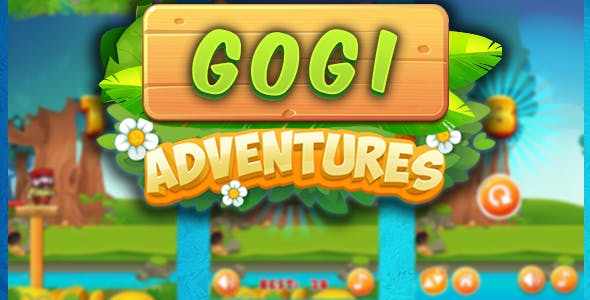 Gogi adventures 2019 - html5 game