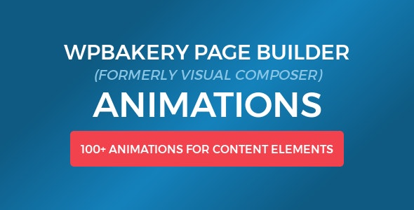 WPBakery Page Builder (Visual Composer) Animations - CodeCanyon Item for Sale