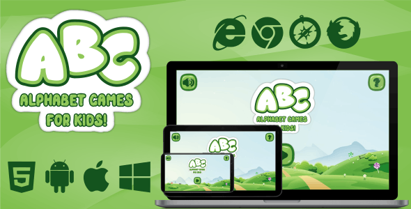 ABC Alphabet Games for Kids - CodeCanyon Item for Sale