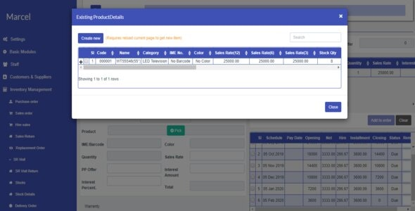 Installment Product Selling Management Software by biddut_hossain