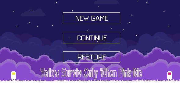 Yellow and Pink | Html5 Game (20 Levels)