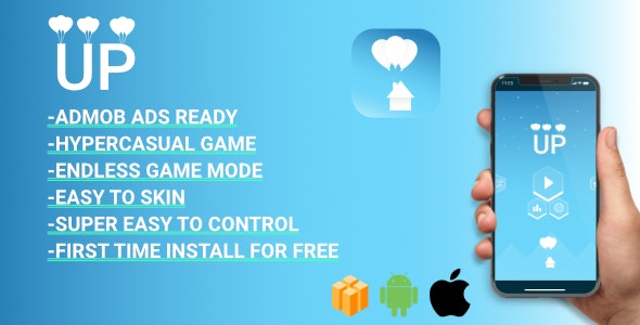 UP - Hyper-casual game  (BBDOC + Android Studio + XCODE) Easy Reskin - CodeCanyon Item for Sale