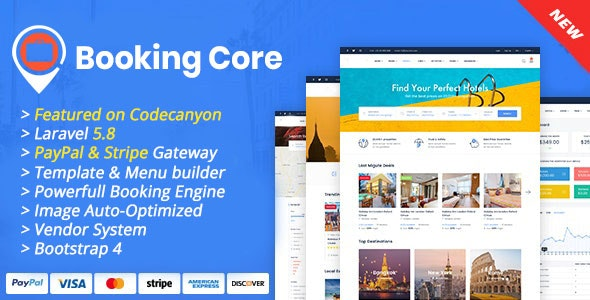 Booking Core - Ultimate Booking System - CodeCanyon Item for Sale