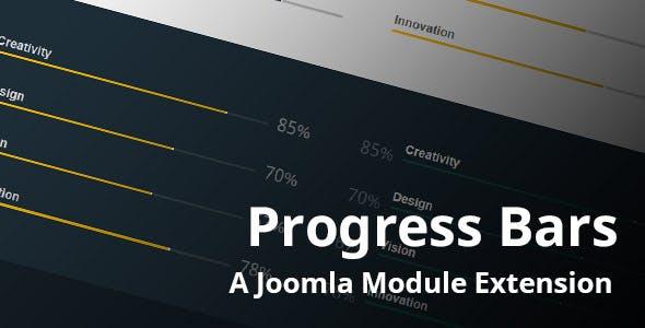 Progress Bars Joomla Module
