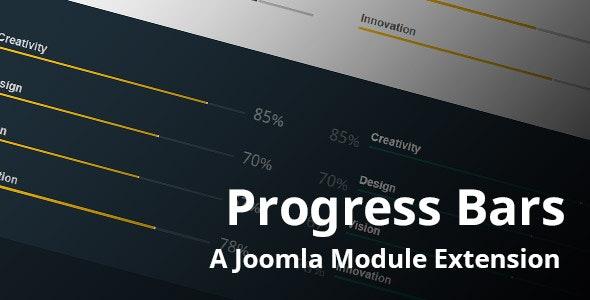 Progress Bars Joomla Module - CodeCanyon Item for Sale